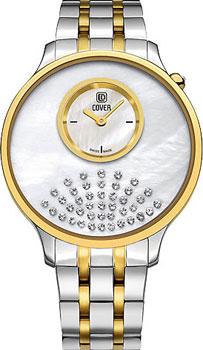 Швейцарские наручные  женские часы Cover CO169.03. Коллекция Perla