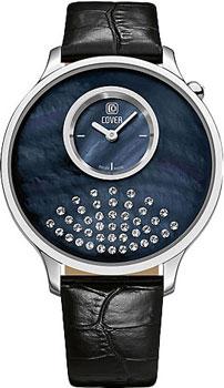 Швейцарские наручные  женские часы Cover CO169.04. Коллекция Perla