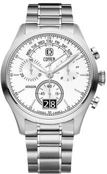 Швейцарские наручные  мужские часы Cover CO170.02. Коллекция Reflections