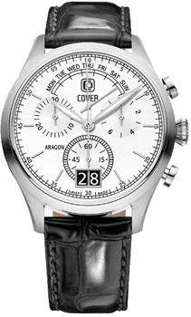Швейцарские наручные  мужские часы Cover CO170.04. Коллекция Reflections