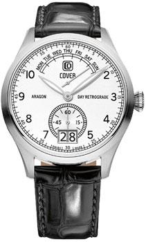 Швейцарские наручные  мужские часы Cover CO171.04. Коллекция Reflections
