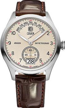 Швейцарские наручные  мужские часы Cover CO171.05. Коллекция Aragon