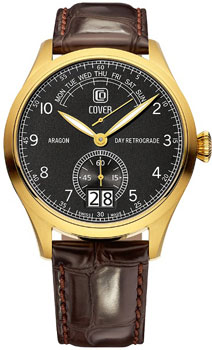 Швейцарские наручные  мужские часы Cover CO171.06. Коллекция Reflections
