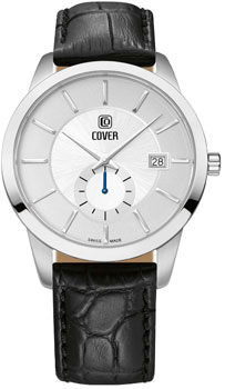 Швейцарские наручные  мужские часы Cover CO173.06. Коллекция Reflections