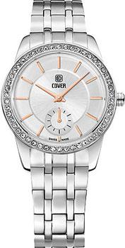Швейцарские наручные  женские часы Cover CO174.03. Коллекция Nobila
