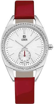 Швейцарские наручные  женские часы Cover CO177.03. Коллекция Circle-Oval