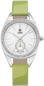 Швейцарские наручные  женские часы Cover CO177.04. Коллекция Circle-Oval
