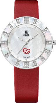 Швейцарские наручные  женские часы Cover CO180.05. Коллекция Amora