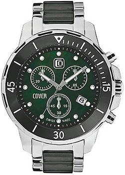 Швейцарские наручные  мужские часы Cover CO51.01. Коллекция Ceramic