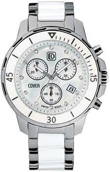 Швейцарские наручные  мужские часы Cover CO51.02. Коллекция Ceramic