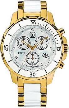 Швейцарские наручные  мужские часы Cover CO51.03. Коллекция Ceramic