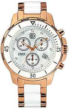 Швейцарские наручные  мужские часы Cover CO51.05. Коллекция Ceramic