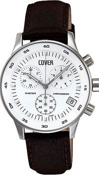 Швейцарские наручные  мужские часы Cover CO52.04. Коллекция Gents