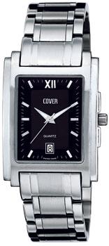 Швейцарские наручные  мужские часы Cover CO53.01. Коллекция Gents