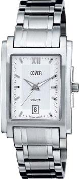 Швейцарские наручные  мужские часы Cover CO53.02. Коллекция Gents