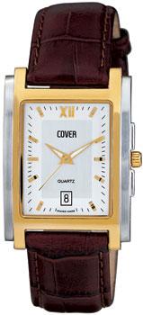 Швейцарские наручные  мужские часы Cover CO53.07. Коллекция Gents