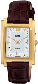 Швейцарские наручные  мужские часы Cover CO53.08. Коллекция Gents