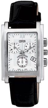 Швейцарские наручные  мужские часы Cover CO55.05. Коллекция Gents