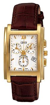 Швейцарские наручные  мужские часы Cover CO55.06. Коллекция Gents
