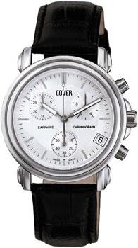 Швейцарские наручные  мужские часы Cover CO61.01. Коллекция Gents