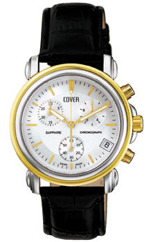 Швейцарские наручные  мужские часы Cover CO61.02. Коллекция Gents