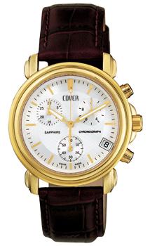 Швейцарские наручные  мужские часы Cover CO61.03. Коллекция Gents