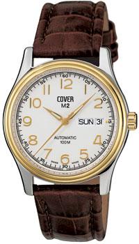 Швейцарские наручные  мужские часы Cover COA2.13. Коллекция Gents