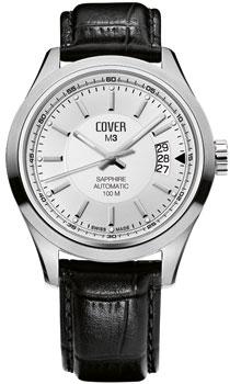 Швейцарские наручные  мужские часы Cover COA3.09. Коллекция Gents