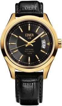 Швейцарские наручные  мужские часы Cover COA3.12. Коллекция Gents