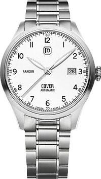 Швейцарские наручные  мужские часы Cover COA4.02. Коллекция Aragon Automatic
