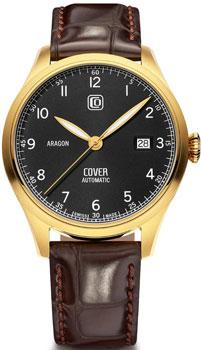 Швейцарские наручные  мужские часы Cover COA4.06. Коллекция Aragon Automatic