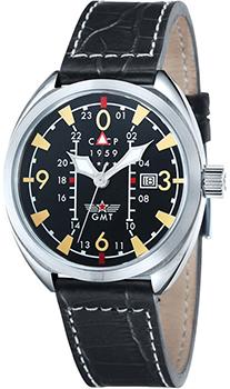 Российские наручные  мужские часы CCCP CP-7013-01. Коллекция AviatorYak-15