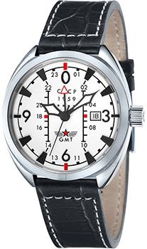 Российские наручные  мужские часы CCCP CP-7013-02. Коллекция AviatorYak-15