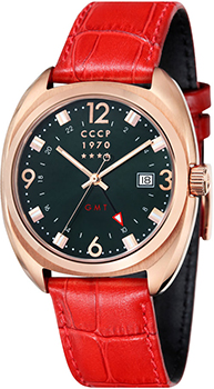 Российские наручные  мужские часы CCCP CP-7016-03. Коллекция AviatorYak-15