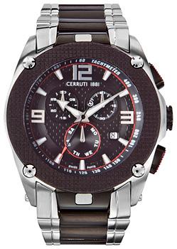 fashion наручные  мужские часы Cerruti 1881 CRA016E221G. Коллекция Gents