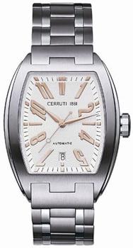 fashion наручные  мужские часы Cerruti 1881 CT60281X403031. Коллекция Tonneau Automatic