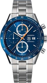 Швейцарские наручные  мужские часы TAG Heuer CV2015.BA0794. Коллекция Carrera