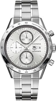 Швейцарские наручные  мужские часы TAG Heuer CV2017.BA0794. Коллекция Carrera