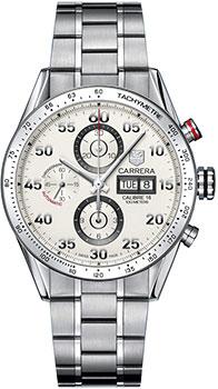Швейцарские наручные  мужские часы TAG Heuer CV2A11.BA0796. Коллекция Carrera