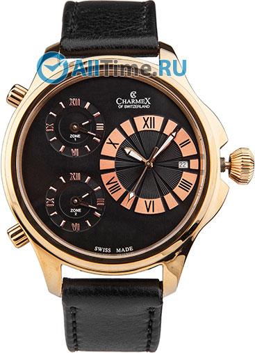 Мужские наручные швейцарские часы в коллекции Cosmopoliten II Charmex