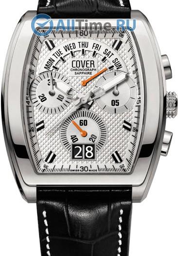 Мужские наручные швейцарские часы в коллекции Rectangular Cover