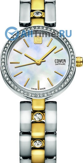 Женские наручные швейцарские часы в коллекции Circle-Oval Cover