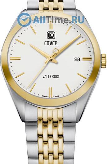 Мужские наручные швейцарские часы в коллекции Circle-Oval Cover
