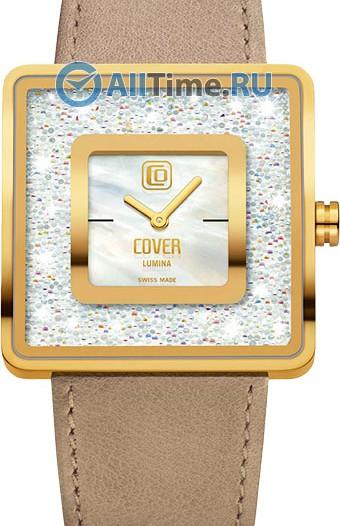 Женские наручные швейцарские часы в коллекции Square Cover