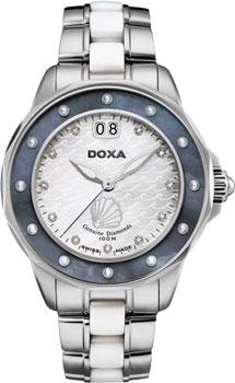 Швейцарские наручные  женские часы Doxa D151SMB. Коллекция Aqua