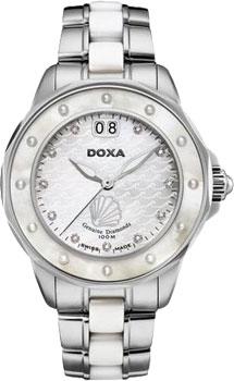 Швейцарские наручные  женские часы Doxa D151SMW. Коллекция Aqua