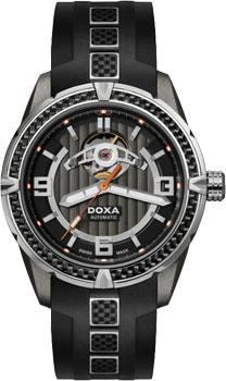 Швейцарские наручные  мужские часы Doxa D166SBK. Коллекция Top collection