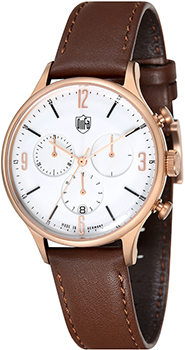 Наручные  мужские часы DuFa DF-9002-05. Коллекция Mies Chrono