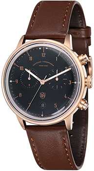 Наручные  мужские часы DuFa DF-9003-05. Коллекция Hannes Chrono