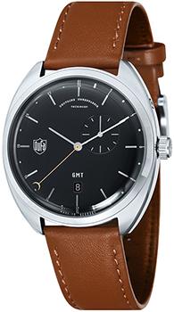 Наручные  мужские часы DuFa DF-9005-01. Коллекция Gotha Gmt